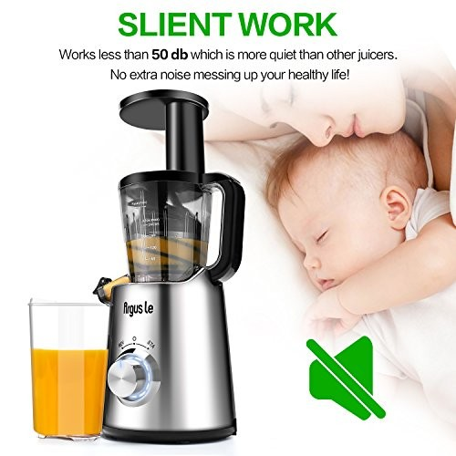 Argus Le Easy To Clean Slow Masticating Juice Extractor